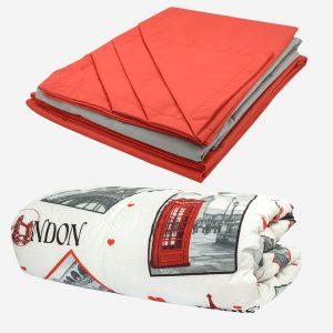 Спални комплекти - Ранфорс (100% памук) с олекотена завивка