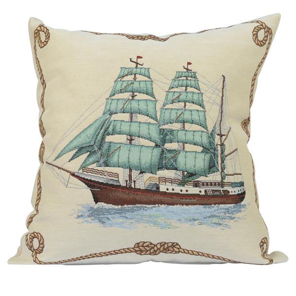 декоративна възглавница кораб атлас